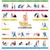 Yogabok: Chi och vänner inkl. Yogaplansch