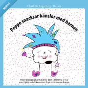 Poppe snacksar känslor med barnen - 5 böcker