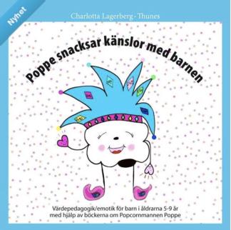 Poppe snacksar känslor med barnen - 5 böcker -