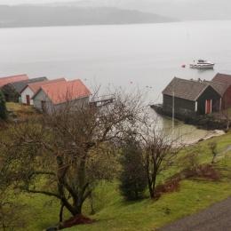 Båthus. Hordaland, Norge
