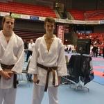 Silver & Brons medaljörer från open Ippon tävling i Hamnstad, november 2014