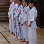 Karate kids gradering maj 2015