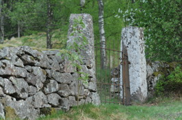 Gamla kyrkogårdsgrinden