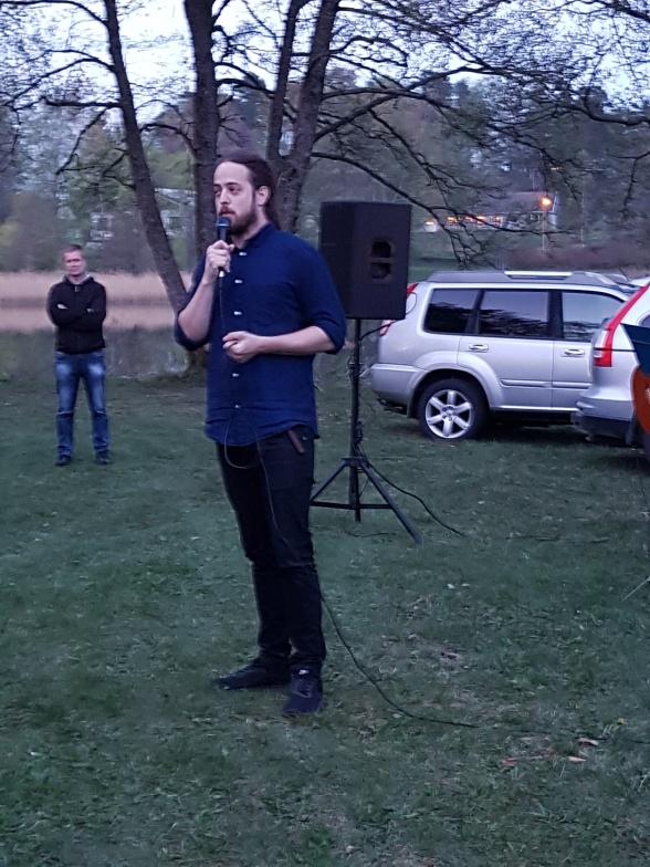 Per Qvarnström från Radio Halland