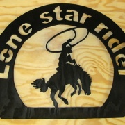 Lone star rider Rodeo tavla