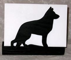 Halländskt hantverk Servetthållare / brevställ i trä Svart målad ca 15x18 cm  Schäfer
