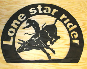 Lone star rider Rodeo tavla - Lone star rider Rodeo tavla