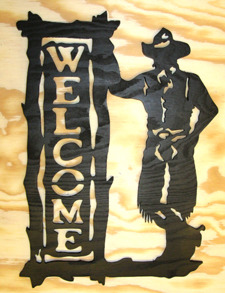 Välkomstskylt Cowboy - Välkomstskylt Cowboy