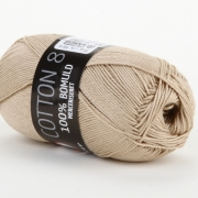 Mayflower Bomull Merceriserat Beige