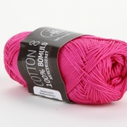 Mayflower Bomull Merceriserat Cerise