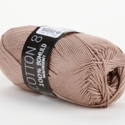 Mayflower Cotton 8 Merceriserat Nougat