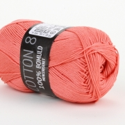 Mayflower Cotton 8 Merceriserat Rosa