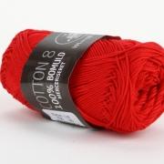 Mayflower Cotton 8 Merceriserat Röd