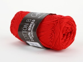Mayflower Cotton 8 Merceriserat Röd - MayflowerCotton 8 Merceriserat Röd