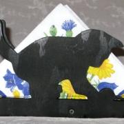 Servetthållare / brevställ Lekande kattunge