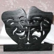 Servetthållare / brevställ Masker