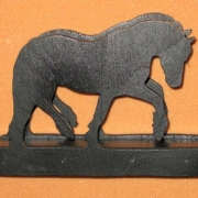 Brev / servett ställ Häst