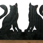 Brev / servett ställ Katter