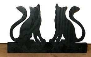 Brev / servett ställ Katter - Brev / servett ställ Katter