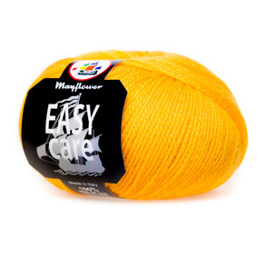 Mayflower Ullgarn Easy Care classic Gul - Mayflower Ullgarn Easy Care classic Gul 100 % ren ny ull 50 gr 106 m Stickor 4   10 cm är 22 maskor Tvätt 40 grader