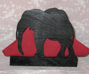 Brevställ / servetthållare Elefant - Brevställ / servetthållare Elefant