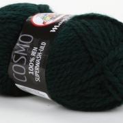 Mayflower Cosmo superwash Mörk grön