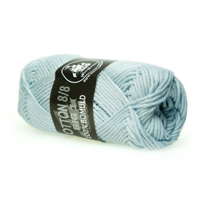 Mayflower Cotton 8/8 Big Ljus turkos - Mayflower Cotton 8/8 Big Ljus turkos