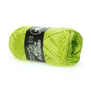 Mayflower Cotton 8/8 Big Lime grön - Mayflower Cotton 8/8 Big Lime grön