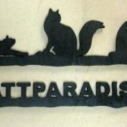 Välkomstskylt Kattparadiset