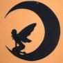 Älva på måne - älva på måne 3 svart
