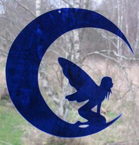 Älva på måne - Älva på måne 3 Blå