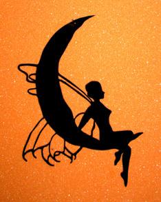 Älva på måne - Älva på måne Svart