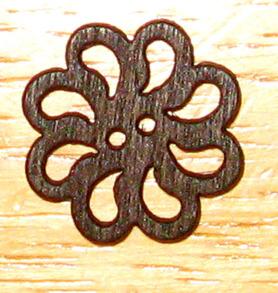 Knapp Blomma - Knapp Blomma 25 mm