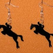 Örhänge Hoppande häst