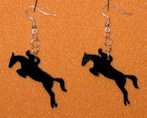 Örhänge Hoppande häst - Örhänge Hoppande häst