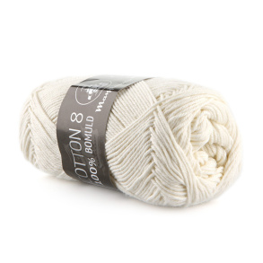 Mayflower cotton 8/4 - Mayflower cotton 8/4 off white