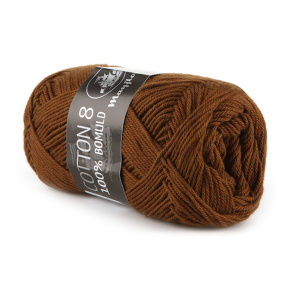 Mayflower cotton 8/4 - Mayflower cotton 8/4 brun