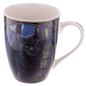 Mugg med Katt Brush with magic - Mugg med Katt Brush with magic