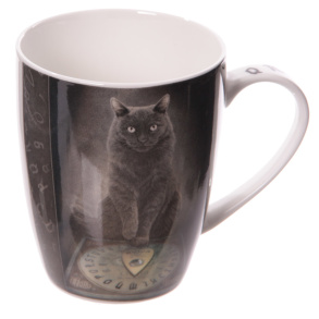 Mugg med Katt His masters voice - Mugg med Katt His masters voice