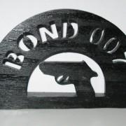 Brev / servett ställ Bond