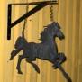 Hängare i plåt Klicka på bilden för varianter - Häst 1