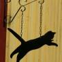 Hängare i plåt Klicka på bilden för varianter - Katt