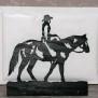 Brev / servett ställ Häst Klicka på bilden för varianter - Cowgirl