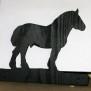 Brev / servett ställ Häst Klicka på bilden för varianter - Ardenner