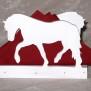 Brev / servett ställ Häst Klicka på bilden för varianter - Häst 1
