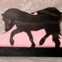 Brev / servett ställ Häst Klicka på bilden för varianter - Häst 4