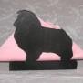 Brev / servett ställ Hund Klicka på bilden för varianter - Sheltie