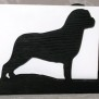 Brev / servett ställ Hund Klicka på bilden för varianter - Rotweiler