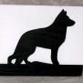 Brev / servett ställ Hund Klicka på bilden för varianter - Schäfer