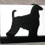 Brev / servett ställ Hund Klicka på bilden för varianter - Afgan